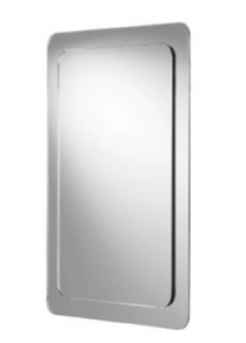 Hib Almo Mirror On Mirror, Landscape or Portrait, With Bevelled Edge